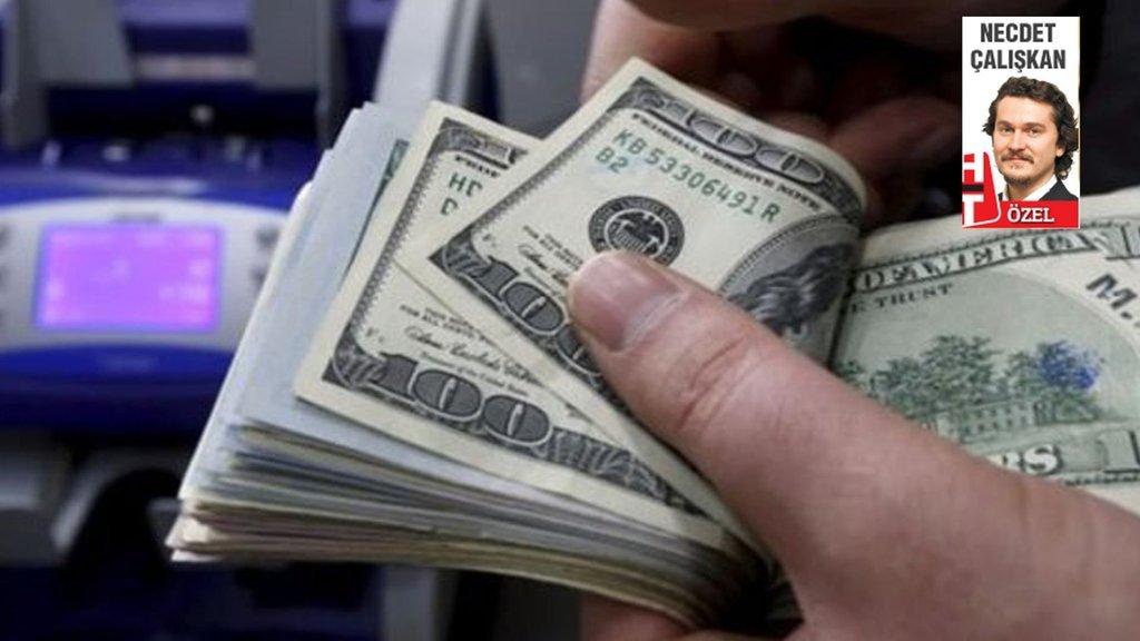 Dolarda akşam düşüşü