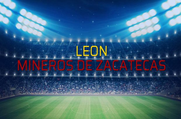 Leon - Mineros de Zacatecas düellosu