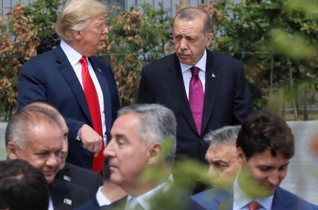 Recep Tayyip Erdoğan Donald Trump Rahip Brunson