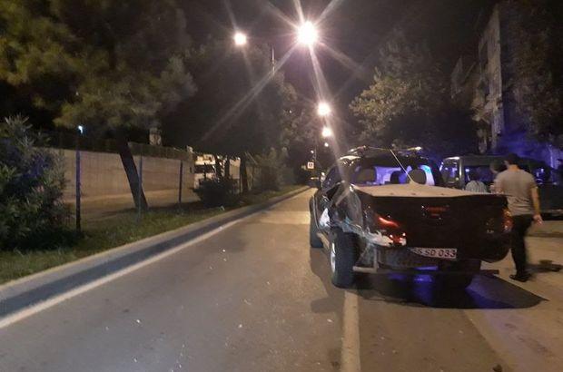 Samsun'un İlkadım ilçesinde trafik kazası: 4 yaralı
