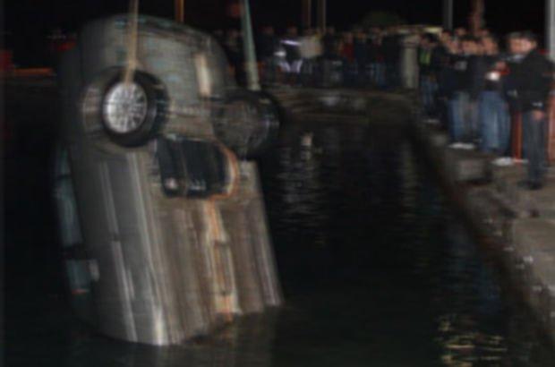 Denize düşen alkollü şahıs ölümden döndü