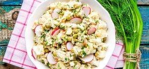Yoğurtlu zerdeçallı patates salatası nasıl yapılır? Yoğurtlu patates salatası tarifi için malzemeler