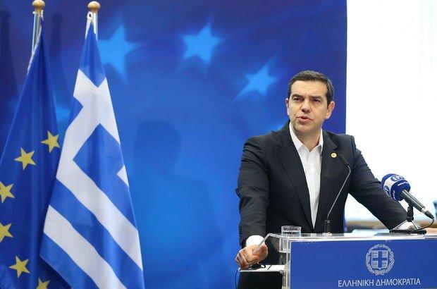 Serbest bırakılan iki Yunan askeriyle ilgili Çipras'tan açıklama!