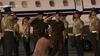 Serbest kalan Yunan askerleri, Selanik'te törenle karşılandı