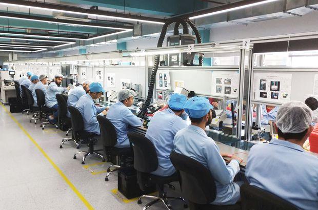 Türk üreticiden 100 milyon TL'lik cep fabrikası!