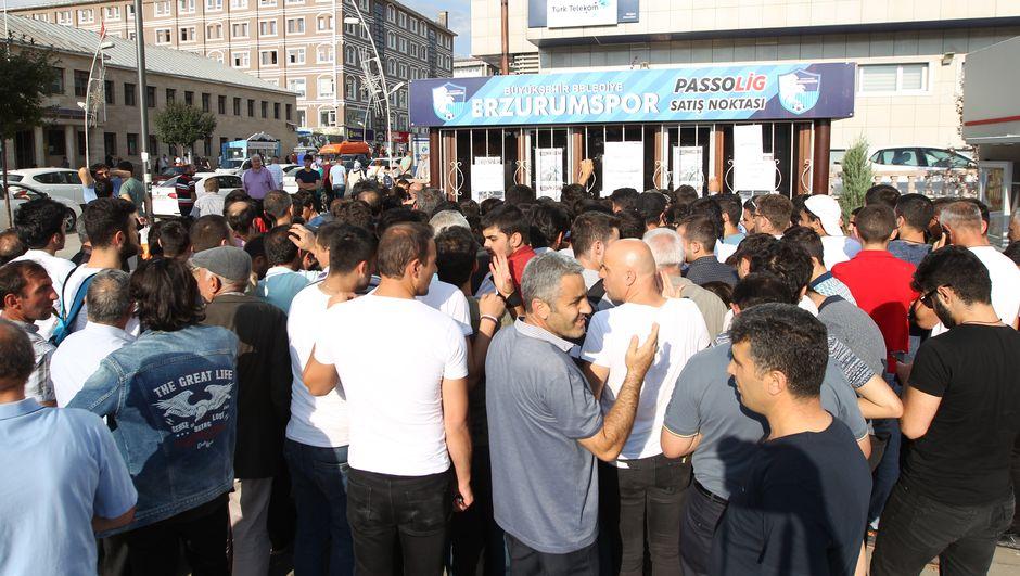 Erzurum'da Beşiktaş heyecanı