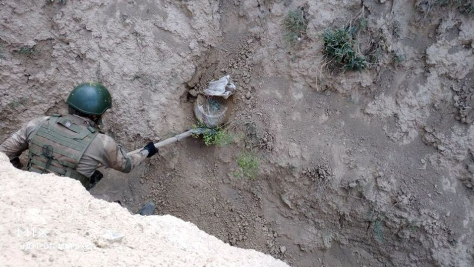 Askerler böyle buldu! Yerinden çıkarmadılar...