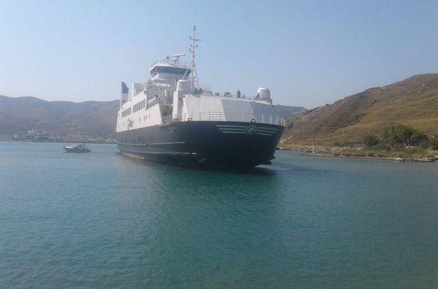 Çanakkale'de feribot karaya oturdu! Yolcular tahliye edildi