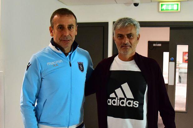 Jose Mourinho, Başakşehir'i ziyaret etti