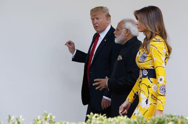 Hindistan Başbakanı'na Trump'ın 'eş' yorumu: Ona birini buluruz!