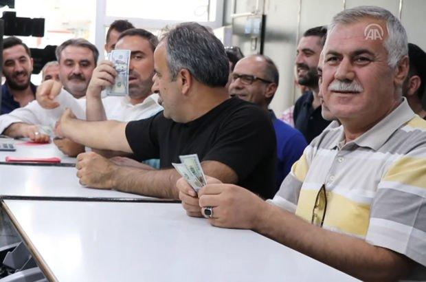 Cumhurbaşkanı Erdoğan'ın dolar çağrısına destek yağdı