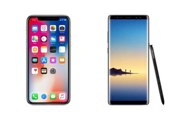 iPhone X galaxy note 9 hız testi