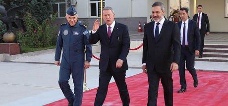 Akar ile Fidan Rusya Savunma Bakanı ile bir araya geldi!