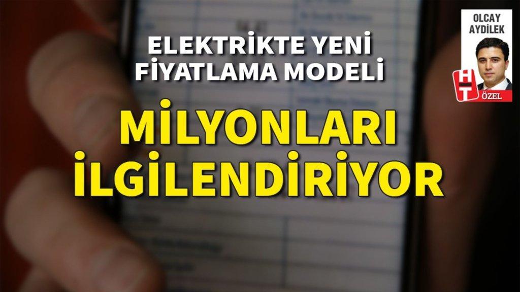 Elektrikte yeni fiyatlama modeli! milyonları ilgilendiriyor
