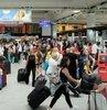 Kurban Bayramı tatilinin başlamasının ardından Atatürk Havalimanı