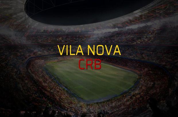 Vila Nova - CRB maçı istatistikleri