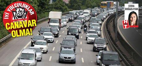 Bayramda trafik yoğunluğu çok olan bölgeler