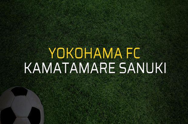 Yokohama FC - Kamatamare Sanuki sahaya çıkıyor