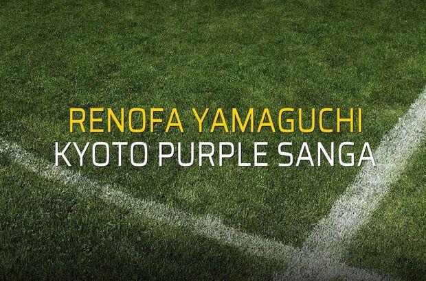 Renofa Yamaguchi - Kyoto Purple Sanga düellosu