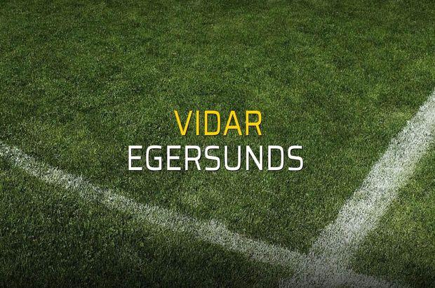 Vidar - Egersunds  karşılaşma önü