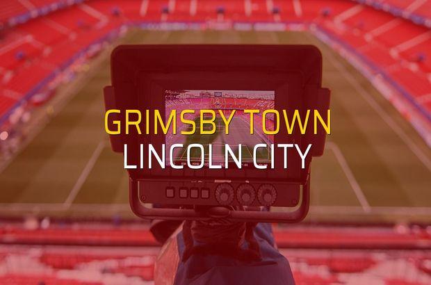 Grimsby Town - Lincoln City karşılaşma önü