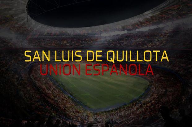 San Luis De Quillota - Union Espanola maçı ne zaman?
