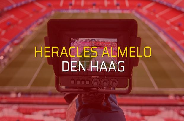 Heracles Almelo - Den Haag düellosu