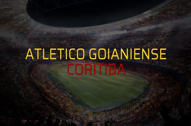 Atletico Goianiense - Coritiba düellosu