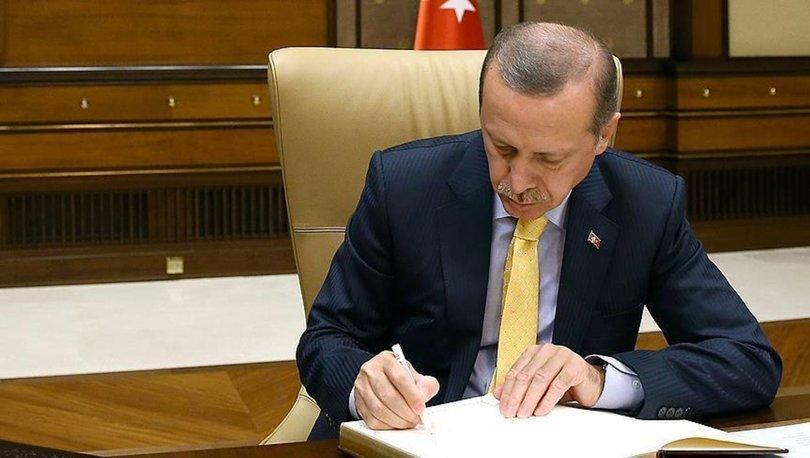 Son dakika... Cumhurbaşkanı Erdoğan yeni atama kararları Resmi Gazete'de