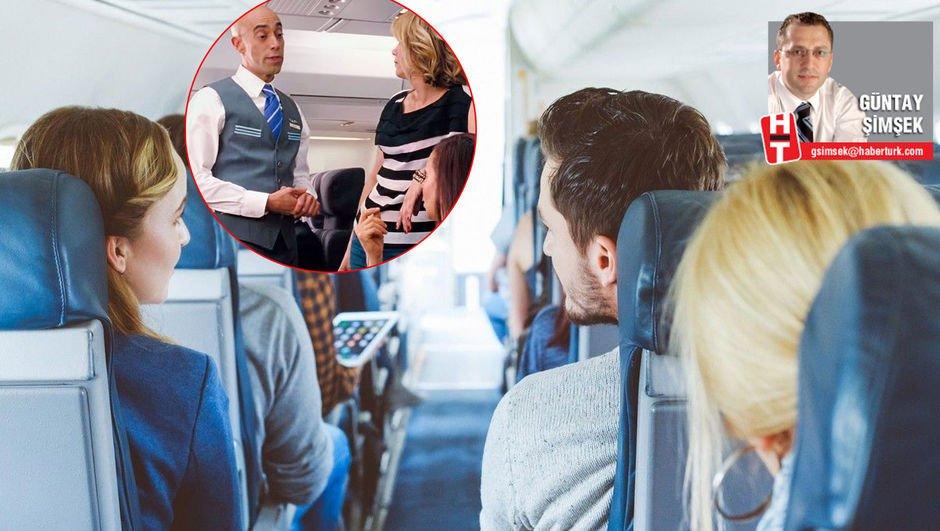 Uçakta istenmeyen 8 yolcu tipi