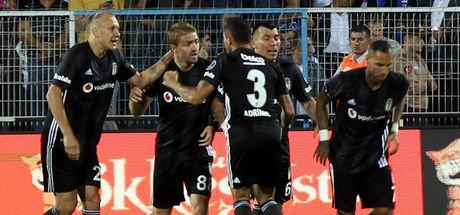 Beşiktaş kabustan uyandı! Erzurum'da 4 gol...