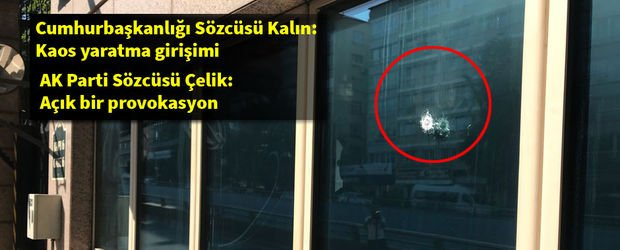 Ankara Valiliği'nden ABD Büyükelçiliğine saldırı açıklaması!