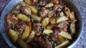 Fırında sebzeli tavuk tarifi ve kalorisi: Sebzeli tavuk kaç kaloridir?