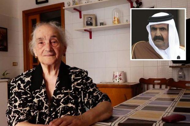 Katar'ın eski Emiri, İtalyan kadının 'tuvalet jestini' unutmadı!