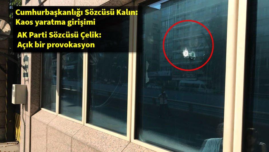 ABD Büyükelçiliğine saldırıda 1 kişi gözaltına alındı!