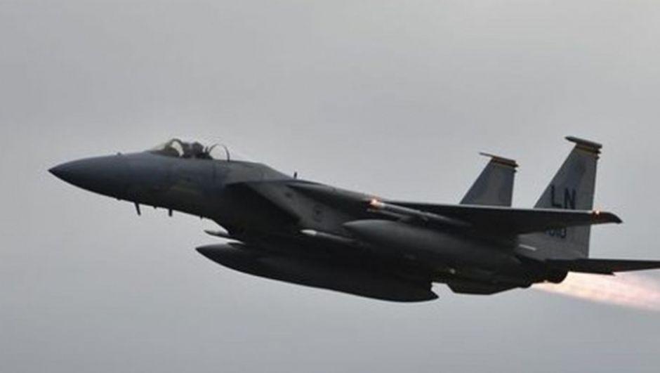 Irak'ta koalisyon güçlerine ait uçak düştü