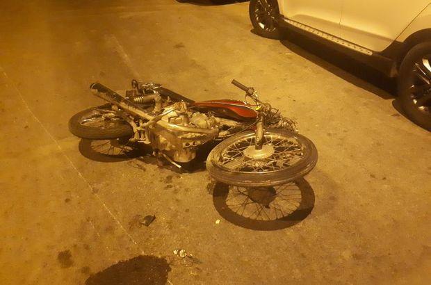 Adana motosiklet kazası