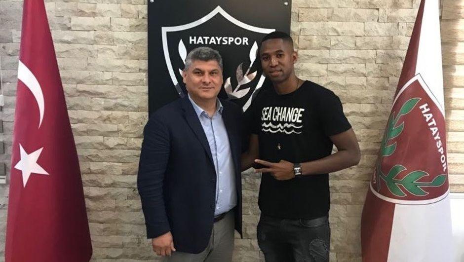 Hatayspor transferi açıkladı