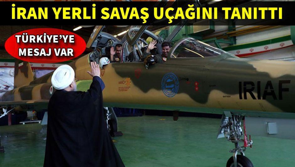 İran yerli savaş uçağı Kovsarı tanıttı!