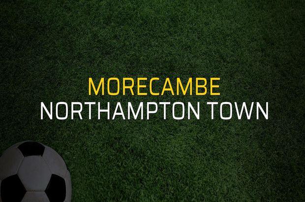 Morecambe - Northampton Town maçı öncesi rakamlar