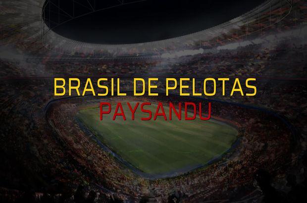 Brasil De Pelotas - Paysandu maçı heyecanı