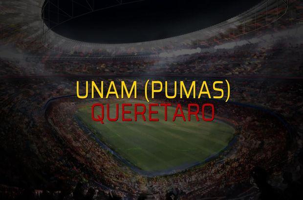 UNAM (Pumas) - Queretaro maçı öncesi rakamlar