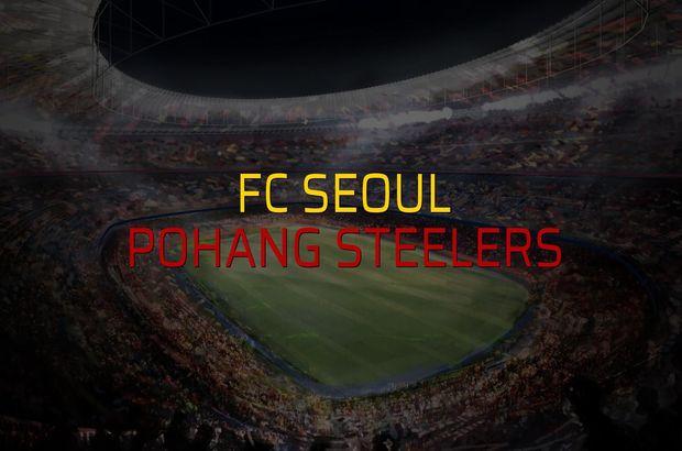 FC Seoul - Pohang Steelers maçı rakamları