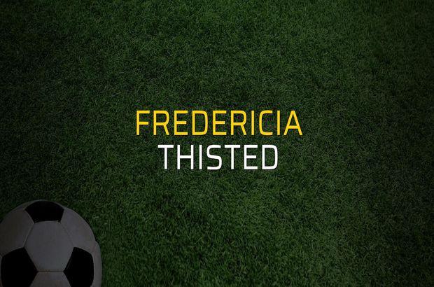 Fredericia - Thisted rakamlar