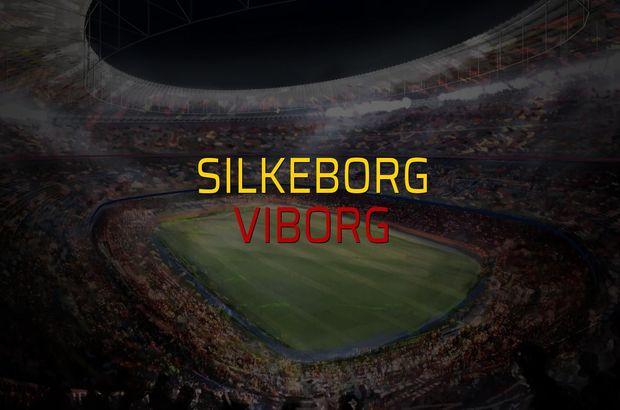 Silkeborg - Viborg maçı öncesi rakamlar