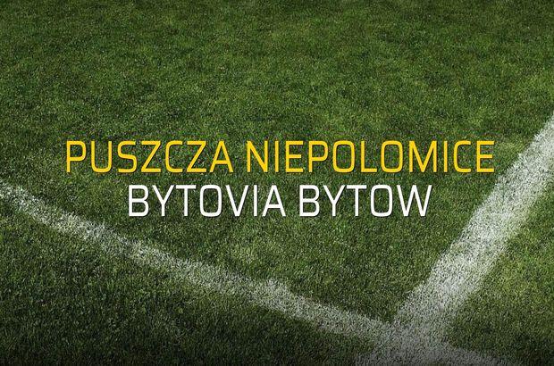 Puszcza Niepolomice - Bytovia Bytow maçı heyecanı