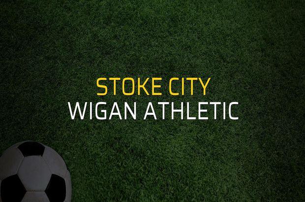 Stoke City - Wigan Athletic maçı rakamları