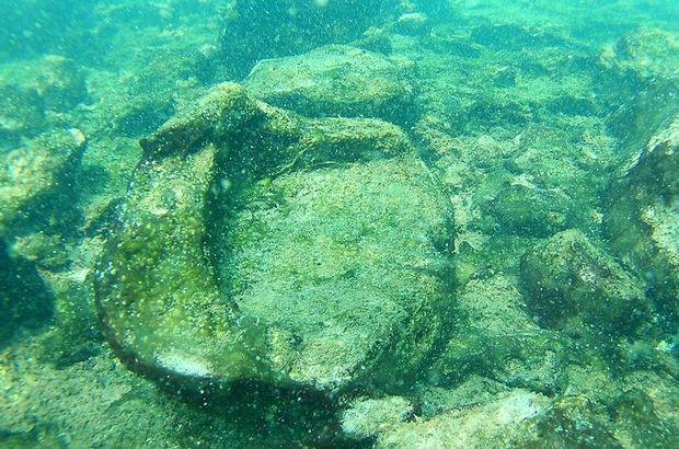 Belgesel dalış ekibi, Van Gölü'nde yaşam alanları kalıntıları tespit etti