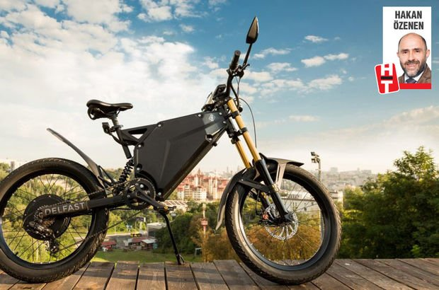 Elektrikli bisiklet Delfast