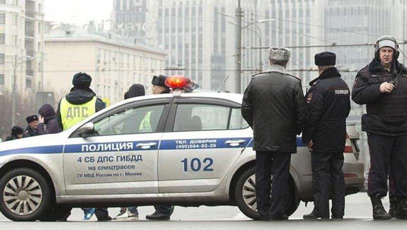 Moskova'da polise silahlı saldırı